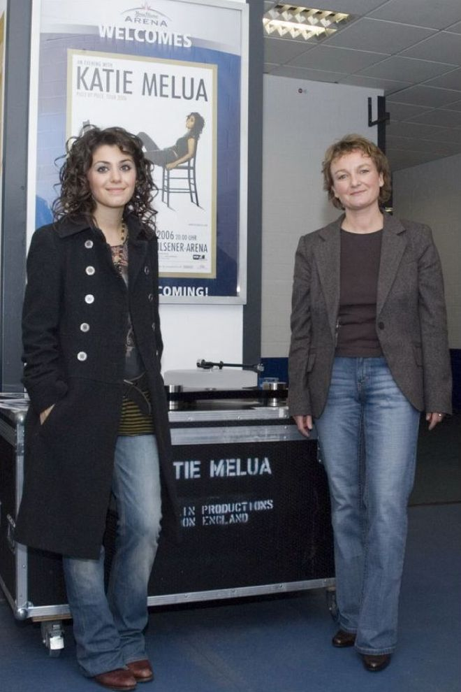 Katie Melua and Ulla Scheu